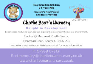 charlie bears forest childcare logo