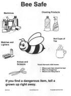 bee safe printable for childminders